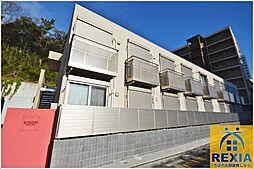 千葉県千葉市稲毛区黒砂1丁目の賃貸アパートの外観