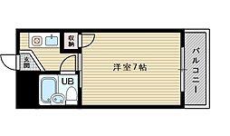 フレックス新大阪I[4階]の間取り
