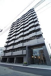 神奈川県川崎市幸区都町の賃貸マンションの外観