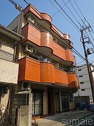 三洋マンション[3階]の外観
