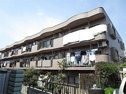 東京都多摩市落川の賃貸マンションの外観