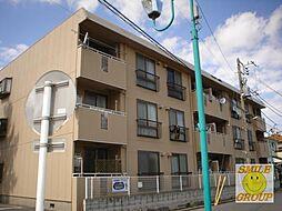 千葉県市川市大洲4丁目の賃貸アパートの外観
