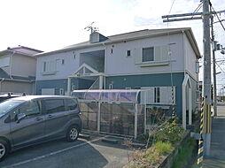 明姫グリーンハイツ[201号室]の外観