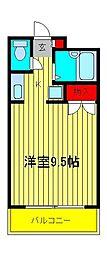 サンライフ耀[3階]の間取り