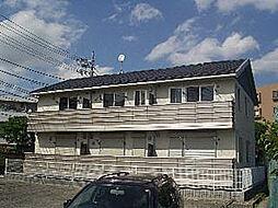 神奈川県川崎市多摩区菅稲田堤3丁目の賃貸アパートの外観