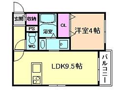 e.house[1階]の間取り