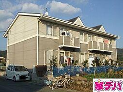 愛知県蒲郡市水竹町下青山の賃貸アパートの外観