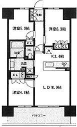ブレス宮崎台[2階]の間取り