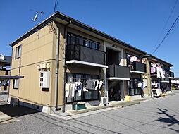 滋賀県彦根市大藪町の賃貸アパートの外観