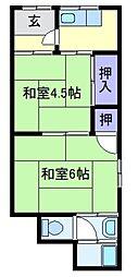吉田文化[1階]の間取り