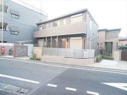 東京都練馬区富士見台1丁目の賃貸アパートの外観