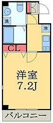 ルミエール幕張1[1階]の間取り