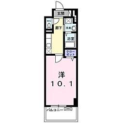 レイラニ130プラッツ[3階]の間取り