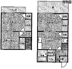 多摩ハウス[2階]の間取り