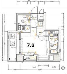 XEBEC東日暮里Southジーベック東日暮里サウス[2階]の間取り