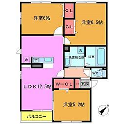 仮)D-room妙典5丁目[1階]の間取り
