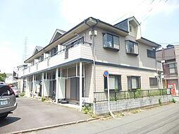 埼玉県八潮市中央1丁目の賃貸アパートの外観