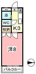 エトワール21新倉[503号室]の間取り