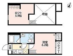 フィーノ[2階]の間取り