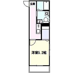ルノン戸塚[3階]の間取り