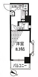 ネオアージュ横浜大通り公園[406号室]の間取り