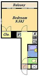 クレオ舞浜A・B[2階]の間取り