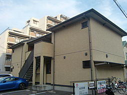 兵庫県神戸市東灘区本庄町2丁目の賃貸アパートの外観