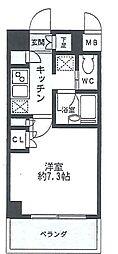 HF駒沢公園レジデンス[3階]の間取り