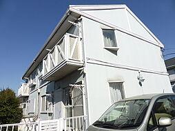 東京都東大和市高木2丁目の賃貸アパートの外観