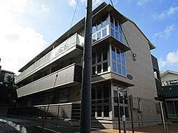 神奈川県川崎市宮前区梶ケ谷の賃貸アパートの外観