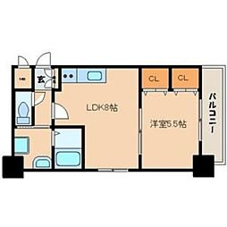 FUSHI BLD[1003号室]の間取り