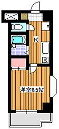 プレジール[9階]の間取り