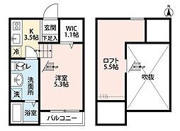 スプレーモ[2階]の間取り