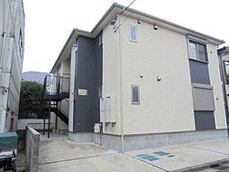 神奈川県横浜市港南区上大岡東3丁目の賃貸アパートの外観