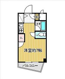 PLEAST飯倉[301号室]の間取り