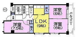 コーポ鷺宮5[1階]の間取り