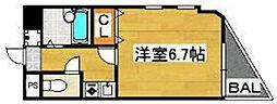レジェール22[2号室]の間取り