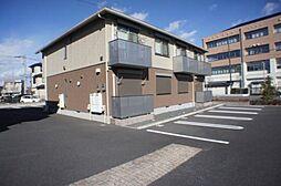 栃木県栃木市河合町の賃貸アパートの外観