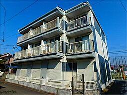 神奈川県相模原市中央区小山1丁目の賃貸アパートの外観