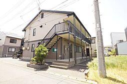 新潟県新潟市北区すみれ野2丁目の賃貸アパートの外観