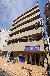 神奈川県川崎市中原区新丸子町の賃貸マンションの外観