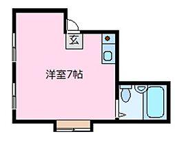 レジデンスマキ[4階]の間取り
