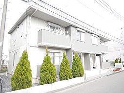 神奈川県厚木市妻田西2丁目の賃貸アパートの外観
