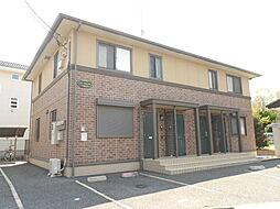 埼玉県川越市大字笠幡の賃貸アパートの外観