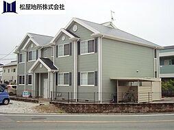 愛知県田原市赤石5丁目の賃貸アパートの外観