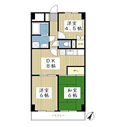 志村ビル[5階]の間取り