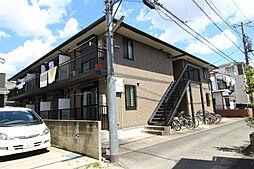 神奈川県川崎市多摩区宿河原4丁目の賃貸アパートの外観