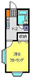 会津ヴィレッジ[2階]の間取り
