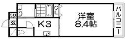 メゾンフルブレス[5階]の間取り