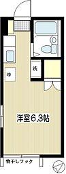ハイムSHIRAI[101号室]の間取り